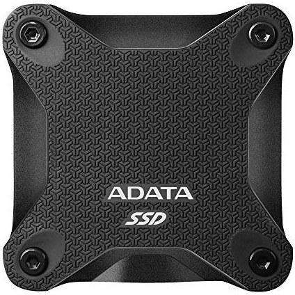 تصویر هارد دیسک اس اس دی پرتابل اکسترنال ADATA SD600Q 960GB ADATA SD600Q 960GB Ultra-Speed Portable Durable External SSD - Up to 440MB/s - 3D NAND USB3.2 Black (ASD600Q-960GU31-CBK)