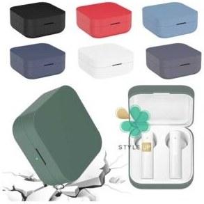تصویر کاور هندزفری شیائومی Xiaomi Mi Air 2 SE مدل سیلیکونی Anti-Fall Silicone Protective Case Cover Compatible with Xiaomi Mi Air 2 SE