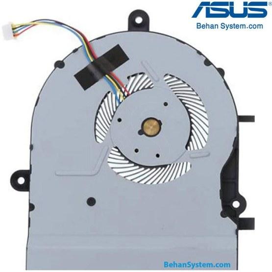 تصویر فن پردازنده لپ تاپ ASUS مدل K501 چهار سیم / DC05V