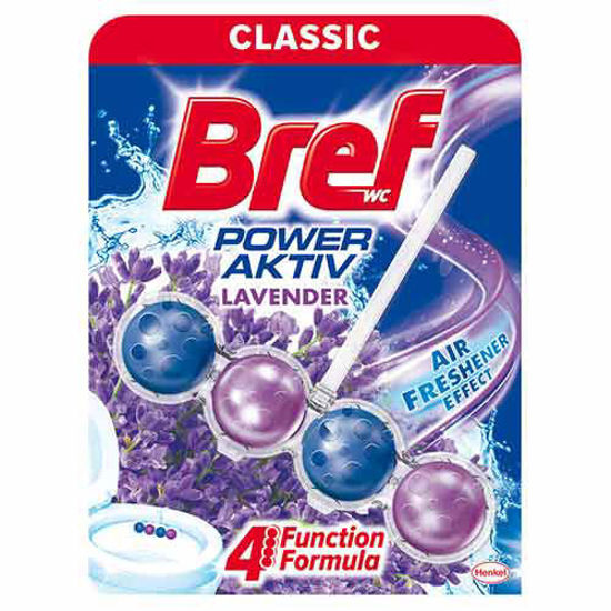 تصویر قرص ضد عفونی و خوشبو کننده توپی توالت فرنگی BREF