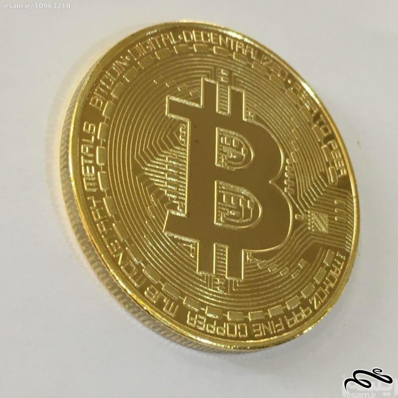 سکه یادبود بیت کوین bitcoin