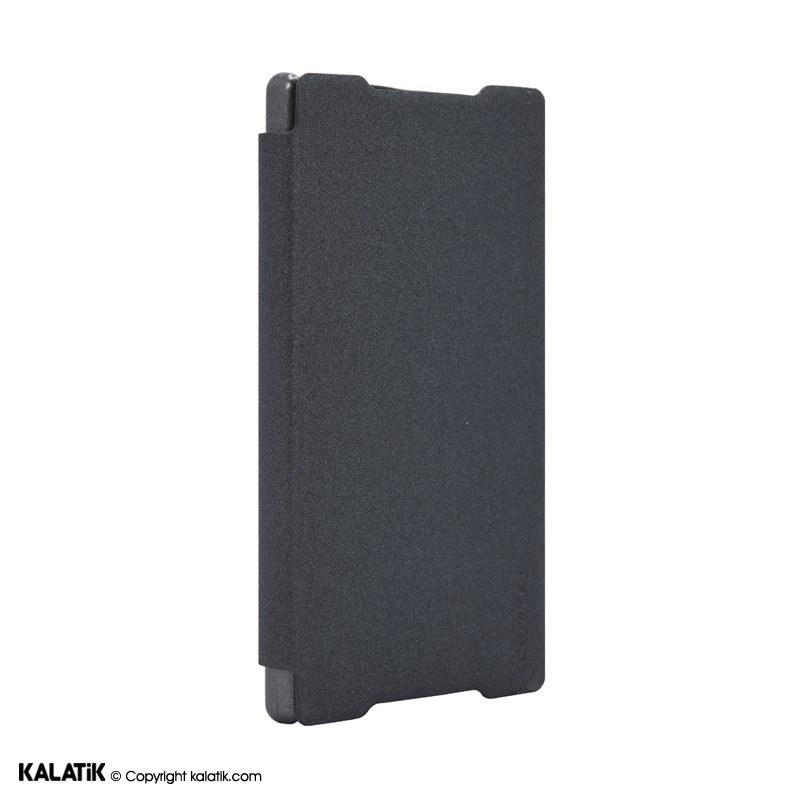 تصویر کیف کلاسوری چرمی نیلکین مدل Sparkle مناسب برای گوشی موبایل Sony Xperia Z5 ا Nillkin Sparkle Leather Cover for Sony Z5 Nillkin Sparkle Leather Cover for Sony Z5
