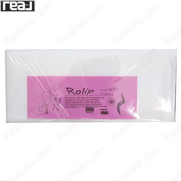 تصویر پد مخصوص اپیلاسیون بسته 30 عددی Rolip Pads Waxing
