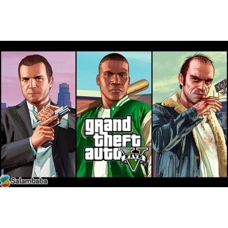 خرید بازی Gta V کنسول PS4   GTA V FOR PS4