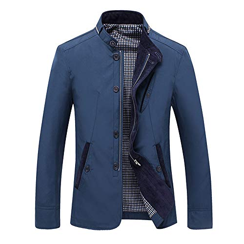 عکس PASATO New Men Winter Long Sleeve Pocket Stand Collar Zip Outwear Jacket Coat Plus Size PASATO New Men Winter Long Sleeve Pocket Stand Collar Zip Outwear Jacket Coat Plus Size Clearance Sale! pasato-new-men-winter-long-sleeve-pocket-stand-collar-zip-outwear-jacket-coat-plus-size