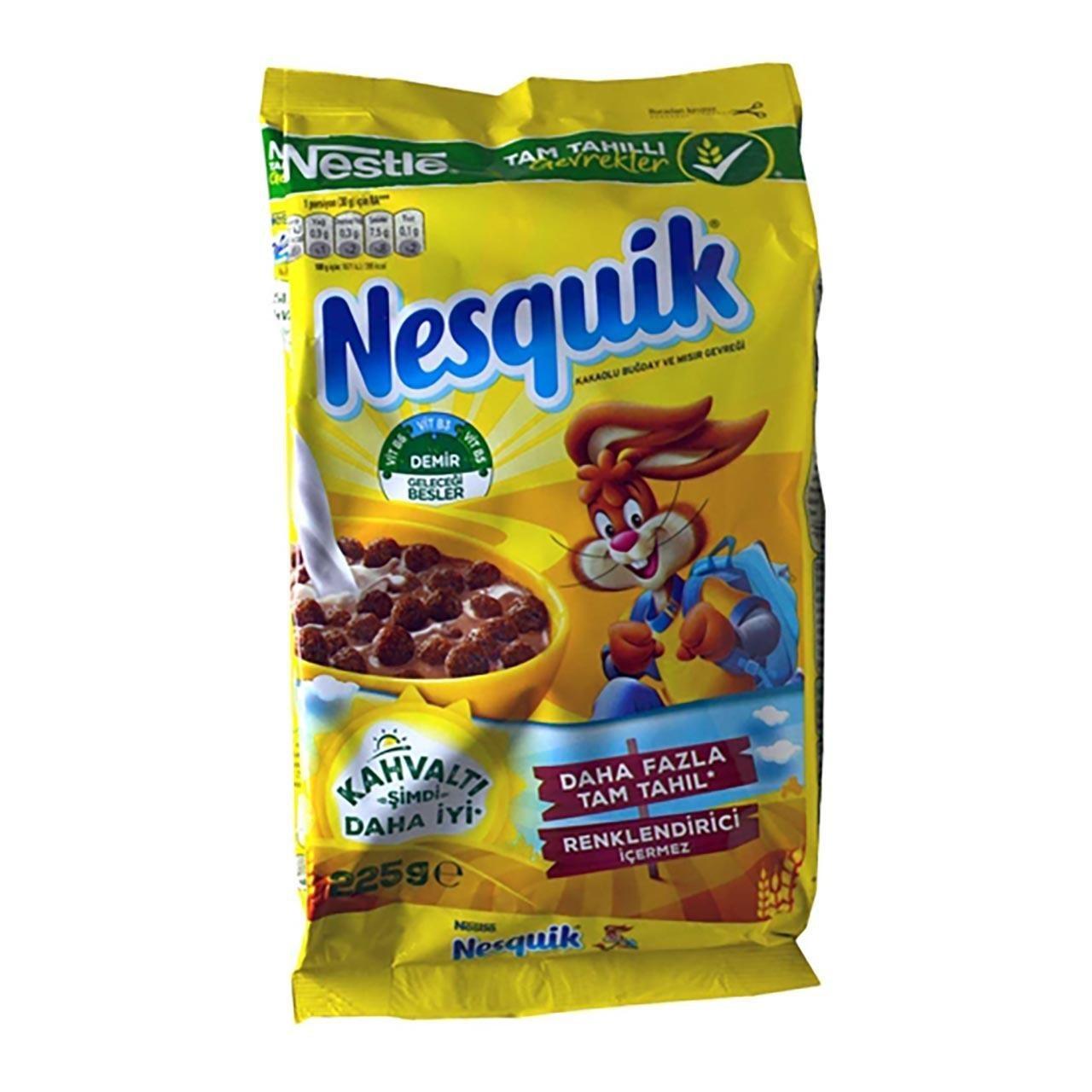 تصویر کورن فلکس شکلاتی توپی نسکوئیک Nesquik Nesquick Chocolate cornflakes