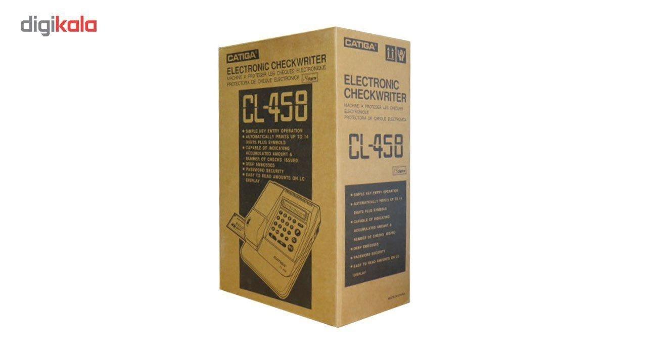 img دستگاه پرفراژ چک کاتیگا مدل Cl-458 Catiga Cl-458 Check Printer