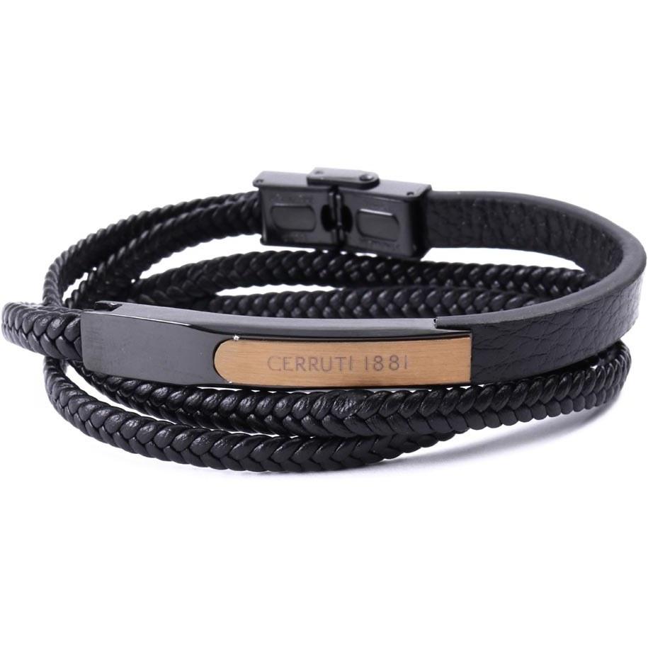 دستبند مردانه چرم طرح CERRUTI مدل 156 |