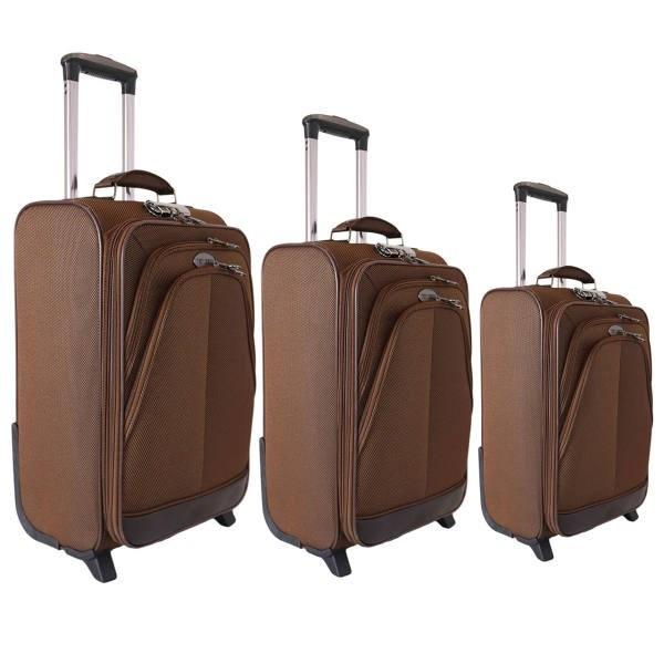مجموعه سه عددی چمدان تاپ یورو مدل 6