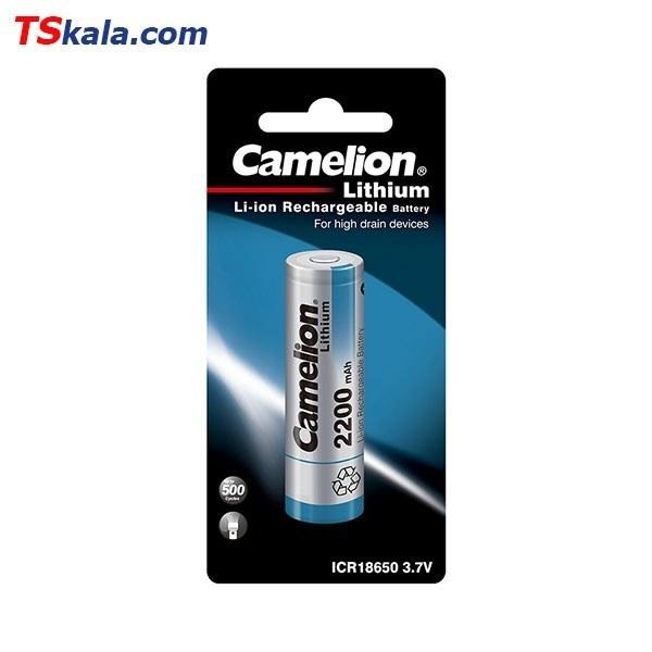 تصویر باتری قابل شارژ کملیون Camelion ICR18650 2200mAh Lithium 1x