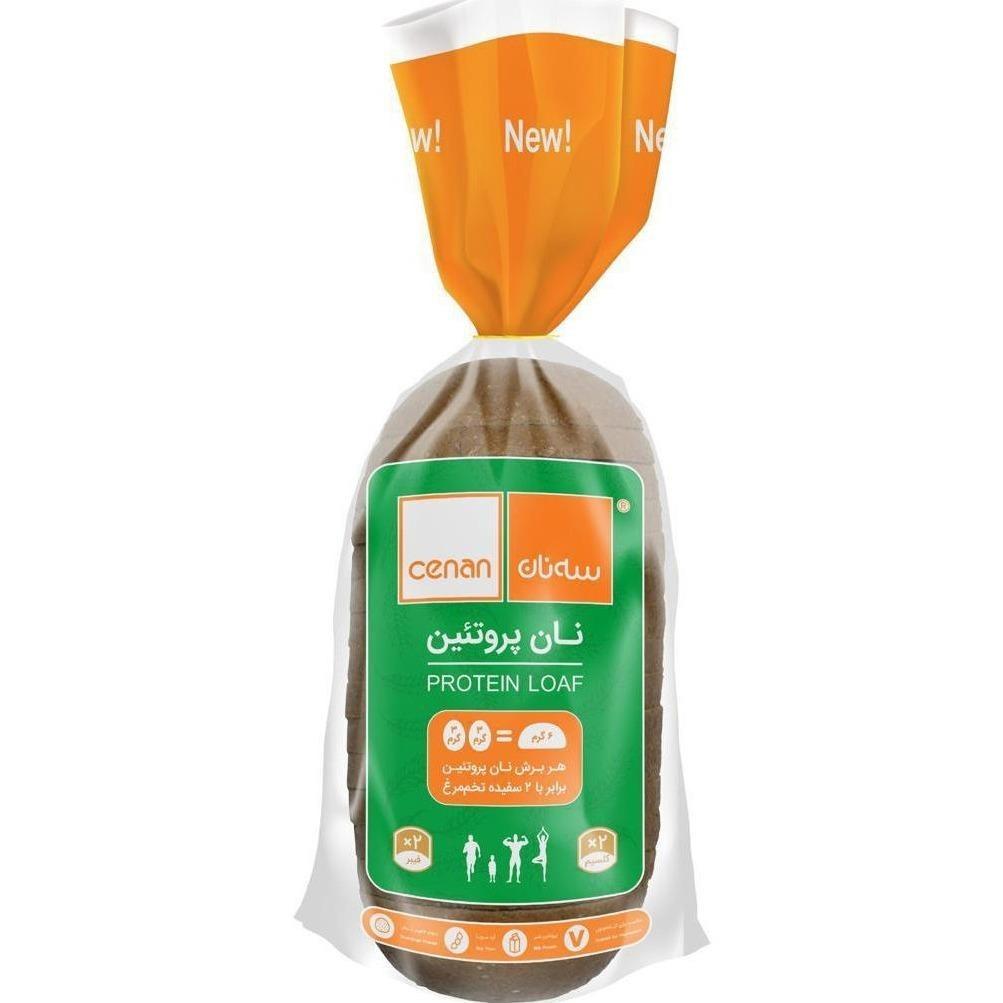 تصویر نان پروتئین 540 گرمی سه نان پینکت