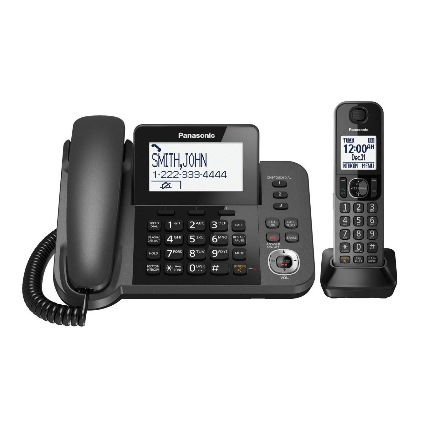 تصویر تلفن بی سیم پاناسونیک مدل KX-TGF350 Panasonic KX-TGF350 Wireless Phone