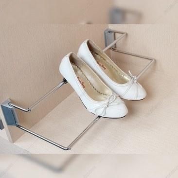 تصویر رک جا کفشی متصل به بدنه استیل کروم فانتونی مدل J419 Fantoni J419 Rack shoe