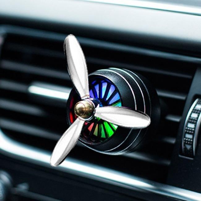 خوشبو کننده هوا لاکچری چراغ دار LED Car Air Freshner | LED Car Air Freshner