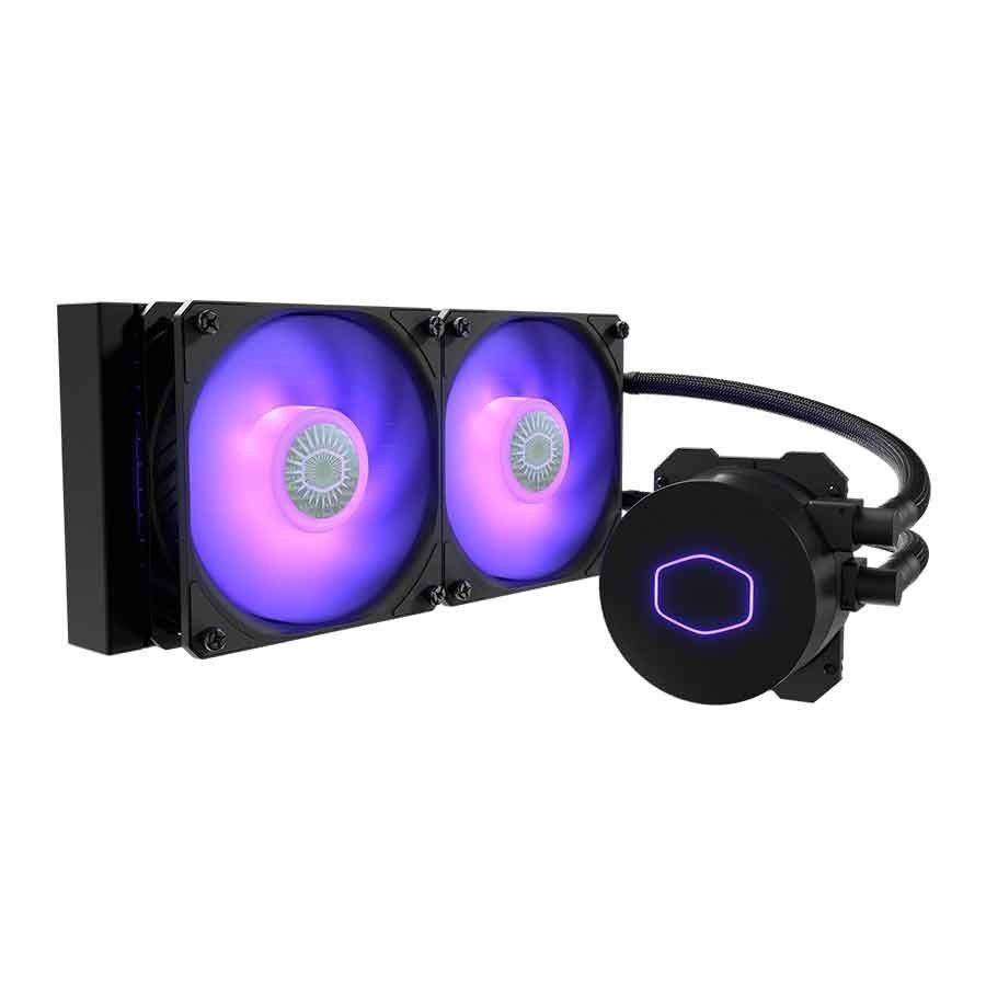 تصویر فن خنک کننده پردازنده کولرمستر مدل MasterLiquid ML240L ARGB V2 Cooler Master MasterLiquid ML240L ARGB V2 CPU Cooler