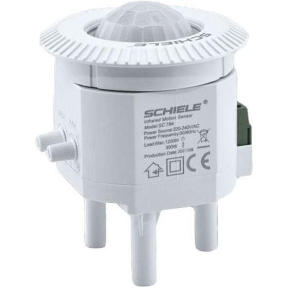 تصویر سنسور یدک چراغ سقفی سنسوردار دو لامپ شیله مدل SC 784