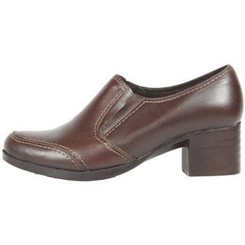 کفش زنانه چرم چهلستون کد495Br |