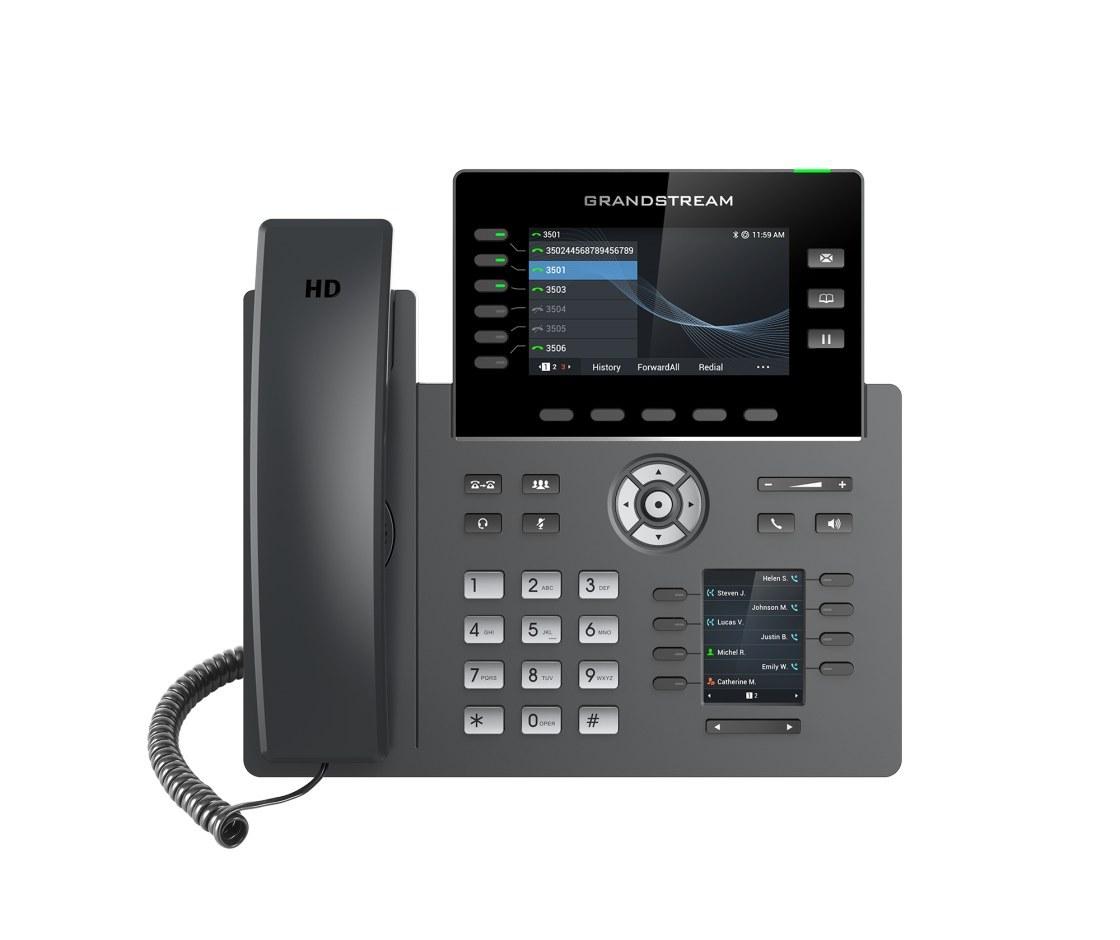 تصویر تلفن مدیریتی تحت شبکه گرنداستریم GRP2616