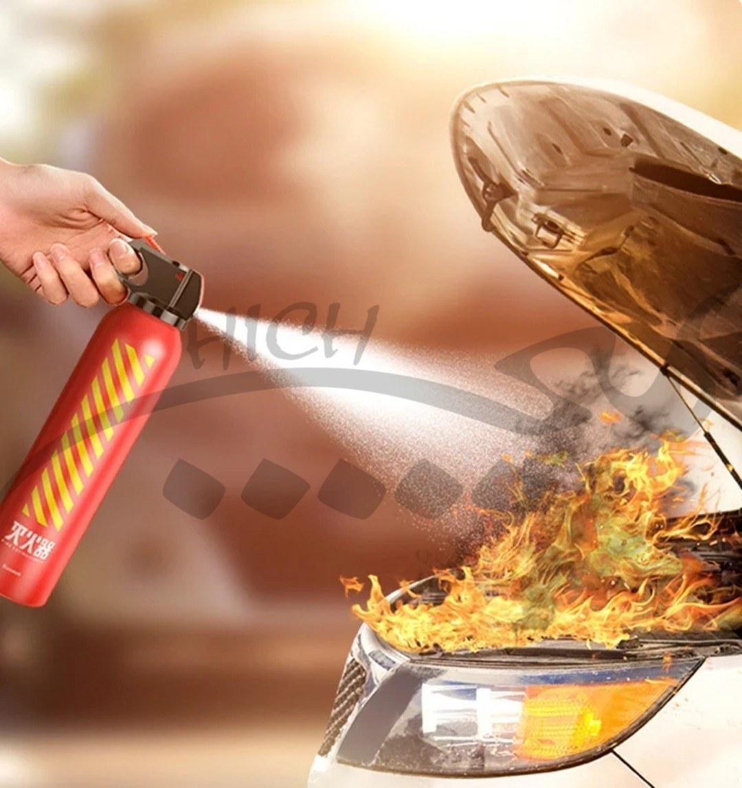 تصویر کپسول آتش نشانی ماشین بیسوس Baseus Fire-Fighting Hero Car Fire Extinguisher CRMHQ-09