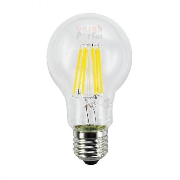 تصویر لامپ 8 وات فیلامنتی E27