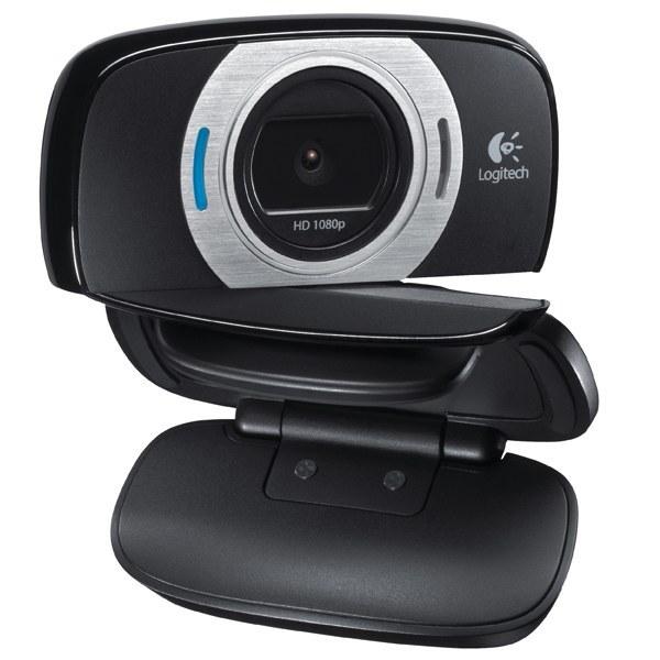 تصویر وب کم لپ تاپ Logitech مدل C615 Logitech HD Laptop Webcam C615 with Fold-and-Go Design