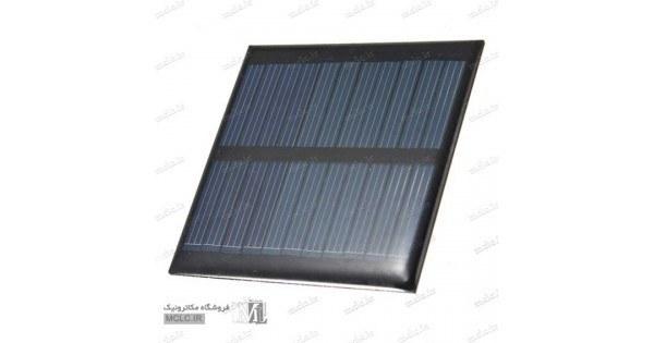 تصویر پنل سلول خورشیدی 5.5 ولت 60 میلی آمپر
