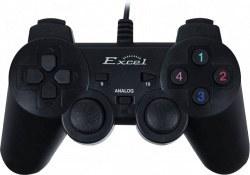 تصویر دسته بازی شوک دار اکسل مدل X-109 Excel X-109 Gamepad