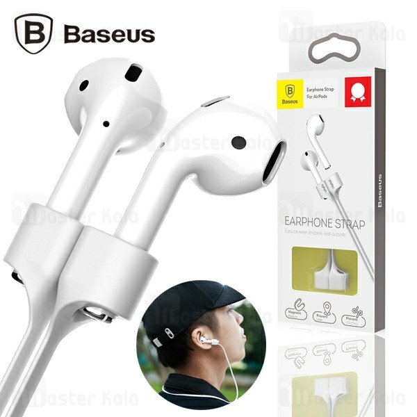 تصویر بند نگهدارنده ایرپاد بیسوس Baseus Earphone Strap For AirPods ACGS-A0G