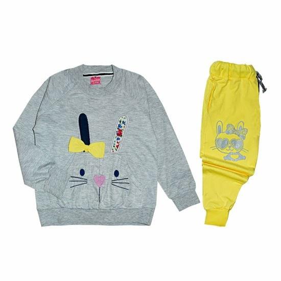 تصویر ست لباس راحتی دخترانه مدل 1-1011 1011-1 Loungewear Sets For Girls