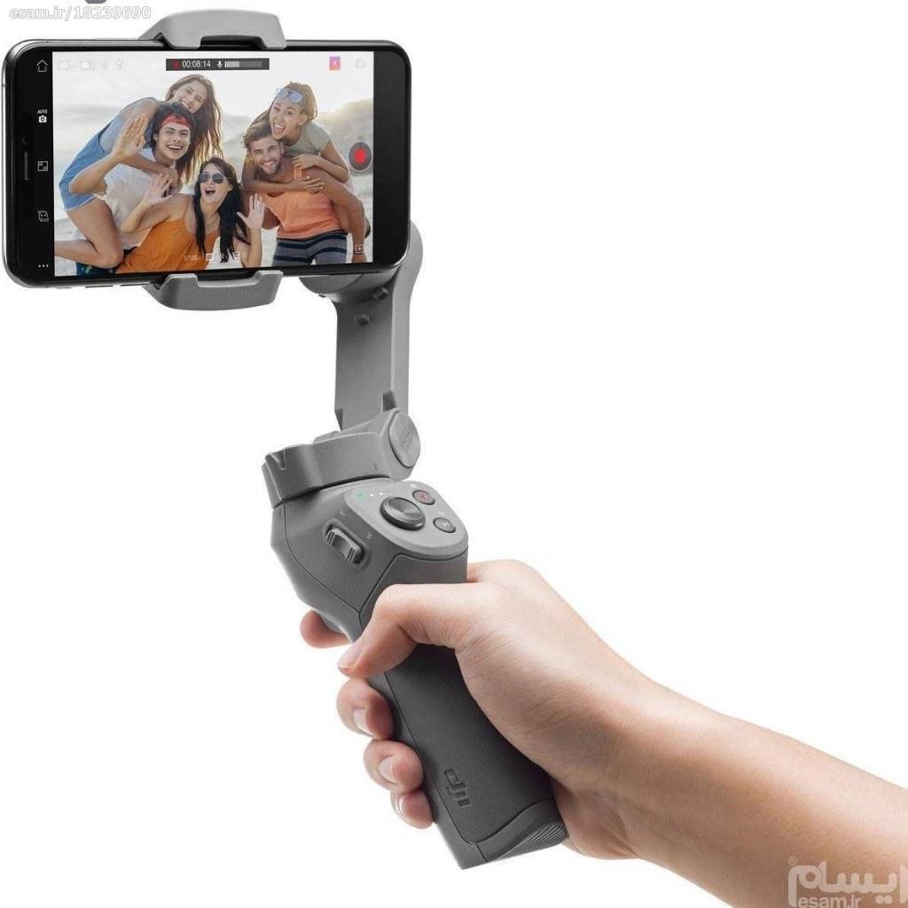 تصویر لرزشگیر تصویر و نگهدارنده ی گوشی موبایل دی جی آی مدل اسمو موبایل 3 Dji Osmo Mobile 3 Stabilizer