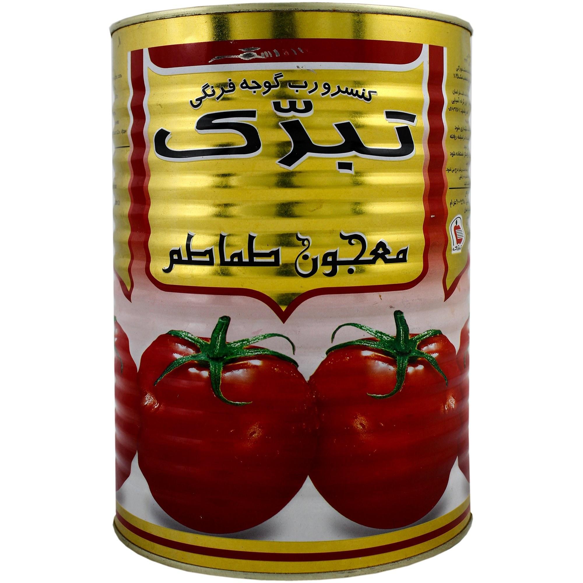 تصویر رب گوجه فرنگی تبرک 4 کیلوگرمی -