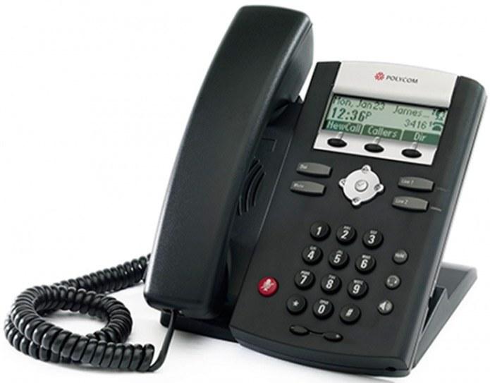 main images SoundPoint IP 321 Phone تلفن VoIP پلی کام مدل SoundPoint IP 321  تحت شبکه
