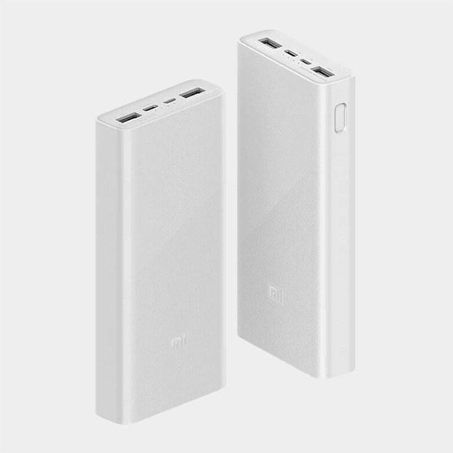 تصویر Xiaomi PLM18ZM 20000mAh Power Bank شارژر همراه شیائومی مدل PLM18ZM ظرفیت 20000 میلی آمپر ساعت