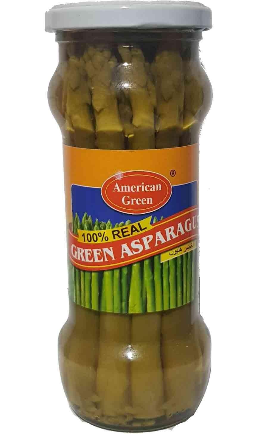 تصویر ترشی مارچوبه آمریکن گرین American Green مدل Green