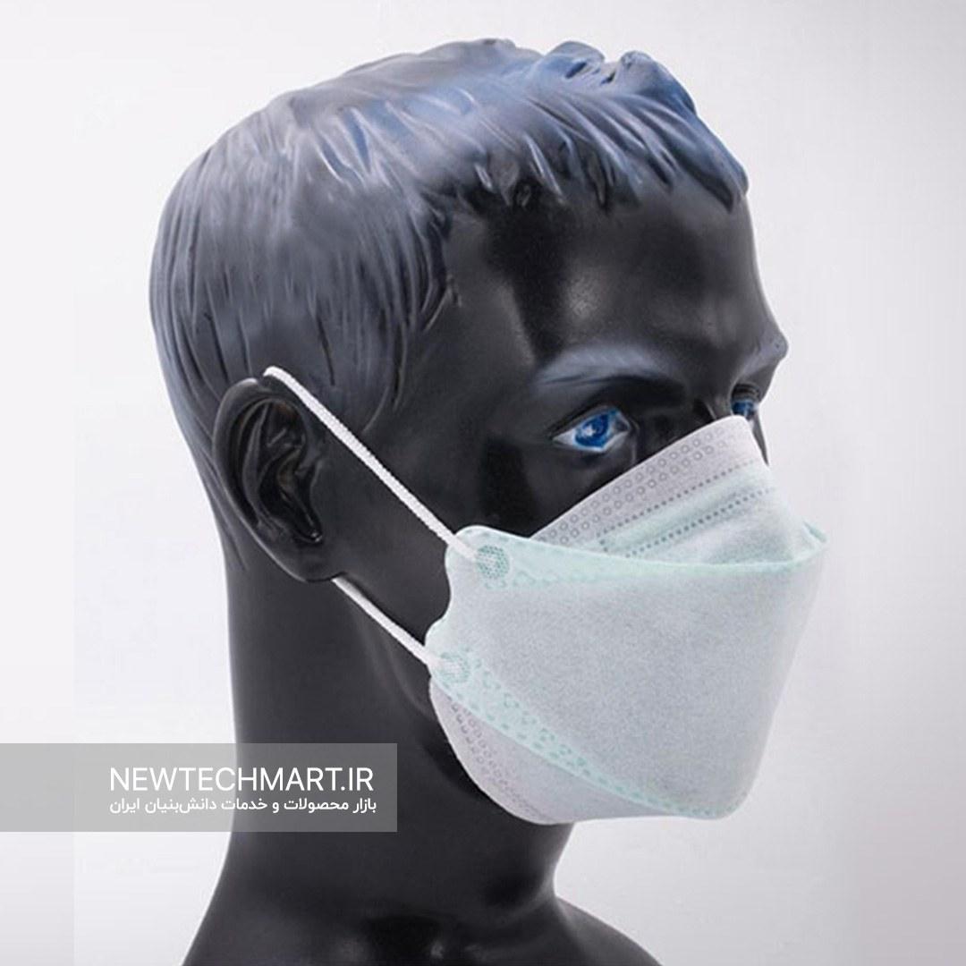 بسته ۲۵ عددی ماسک نانویی چهار لایه N99 سه بعدی بوفالو (Nano 3D Medical Mask)