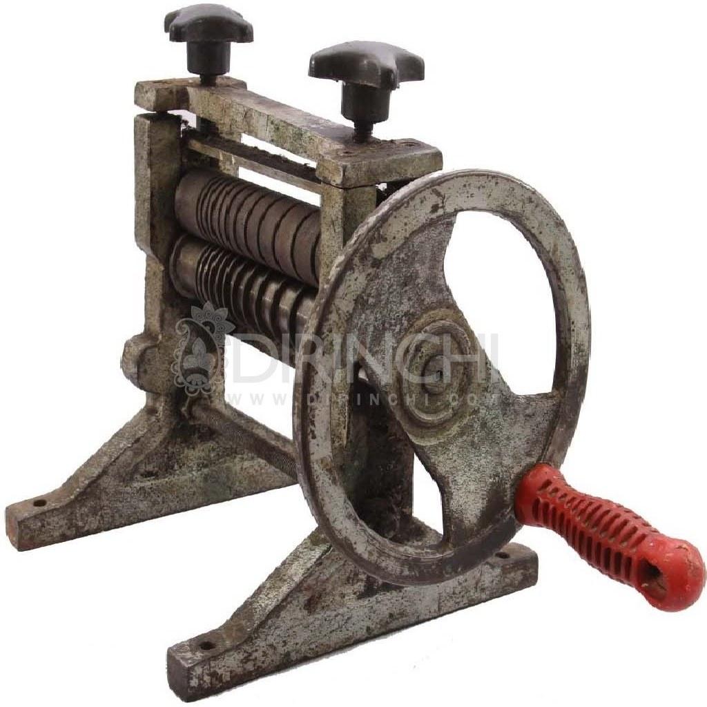 تصویر دستگاه نورد قدیمی