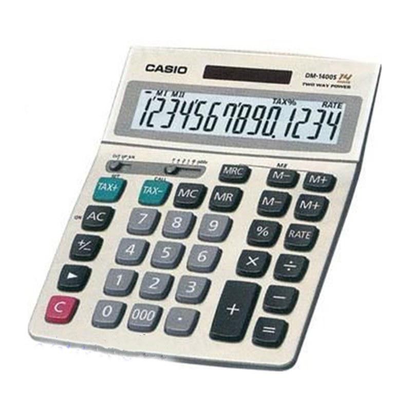 تصویر ماشین حساب مدل DM-1400B کاسیو Casio DM-1400B calculator