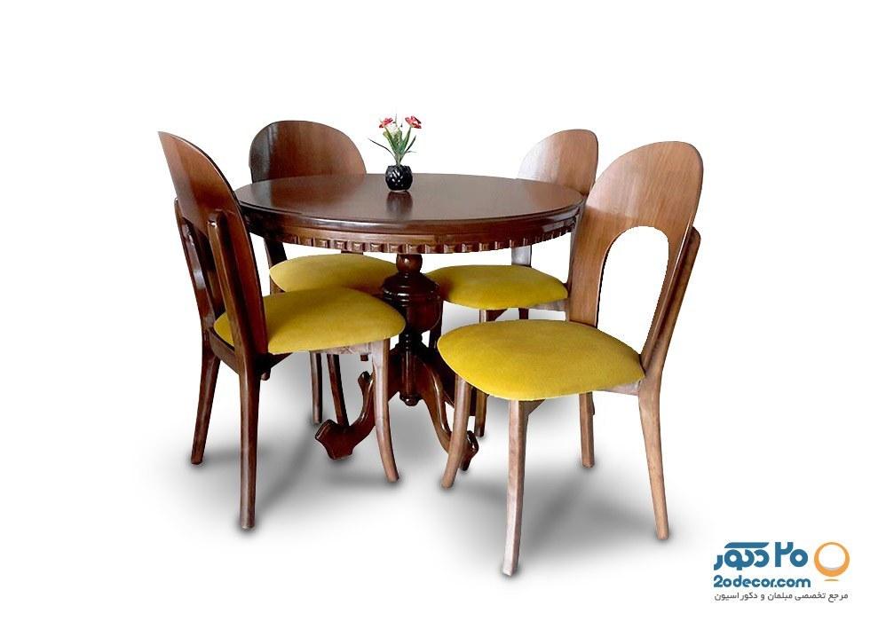 میز و صندلی ناهارخوری جعفری مدل آرمیس |