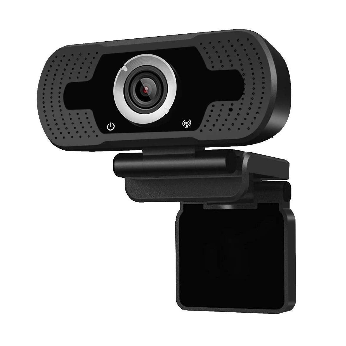Anivia 1080p HD Webcam W8, USB Desktop Laptop Camera, Mini Plug and Play Video Calling Computer Camera, Built-in Mic, Flexible Rotatable Clip