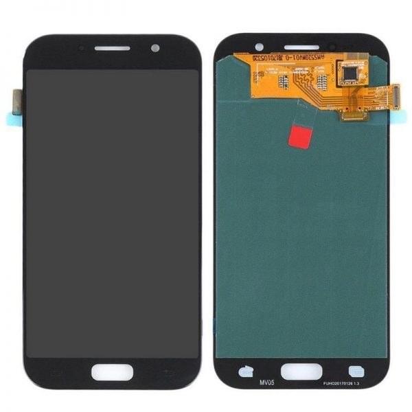 تصویر تاچ ال سی دی اصلی سامسونگ (Galaxy A5 (2017 با آموزش تعویض Samsung Galaxy A5 2017 Original Display