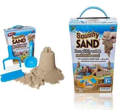 پکیج شن چسبان Squishy Sand