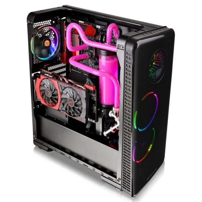 کیس کامپیوتر ترمالتیک مدل View 28 RGB Riing Edition |