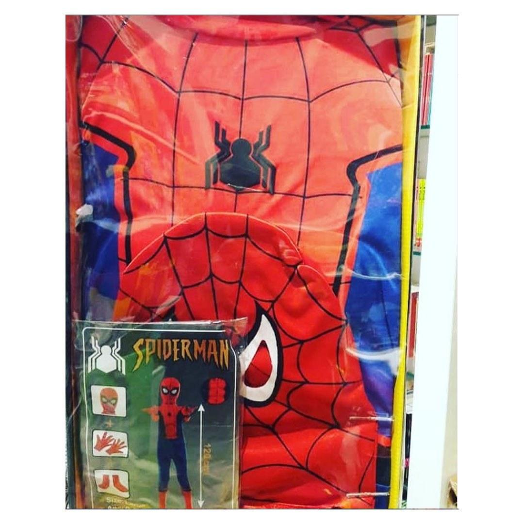 تصویر لباس کودک مرد عنکبوتی و بت من