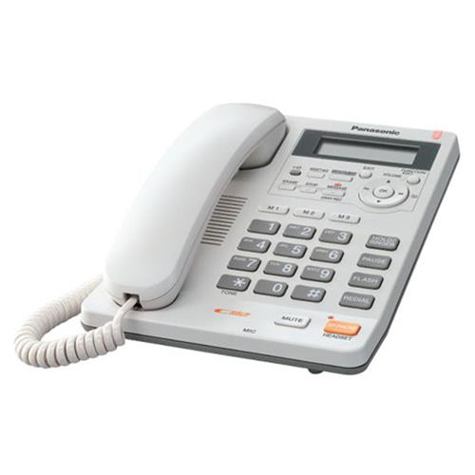 تصویر تلفن رومیزی پاناسونیک KX-TS620MX Panasonic KX-TS620MX Corded Phone