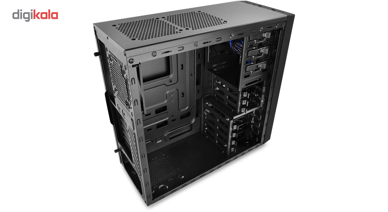 img کیس دیپ کول تسراکت دابلیو اچ Deep Cool TESSERACT WH Mid Tower Computer Case