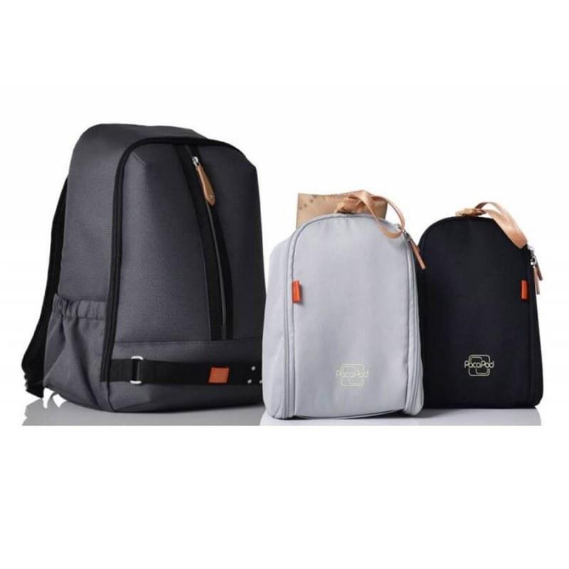 کیف لوازم نوزاد پکاپد Pacapod مدل Picos Pack رنگ Black Charcoal  