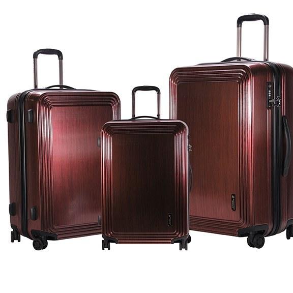 تصویر مجموعه سه عددی چمدان پولو مدل Beverly hills
