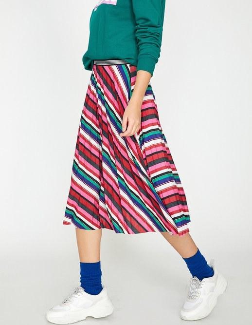دامن بلند زنانه کوتون | دامن بلند کوتون با کد 9YAL79391IK43R