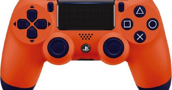 عکس دسته پلی استیشن 4 DualShock 4 Sunset Orange DualShock 4-Sony دسته-پلی-استیشن-4-dualshock-4-sunset-orange
