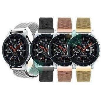 تصویر بند فلزی ساعت هوشمند سامسونگ Galaxy Watch 46mm مدل حصیری